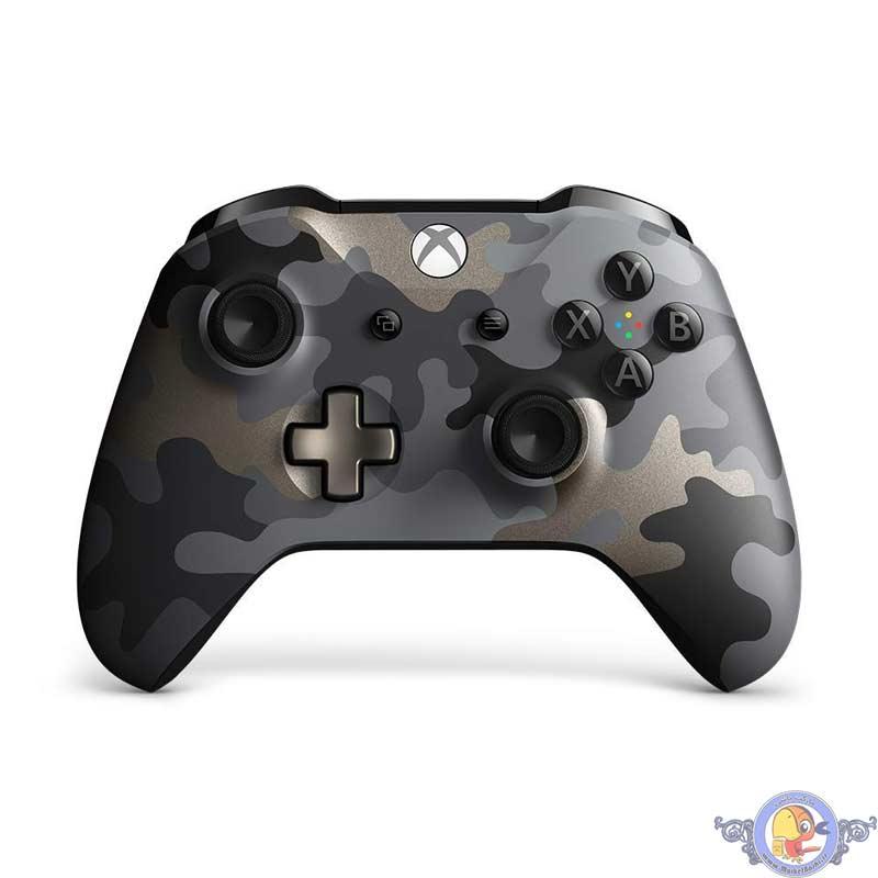 دسته بی سیم مایکروسافت مناسب Xbox One S مدل Midnight Ops Camo