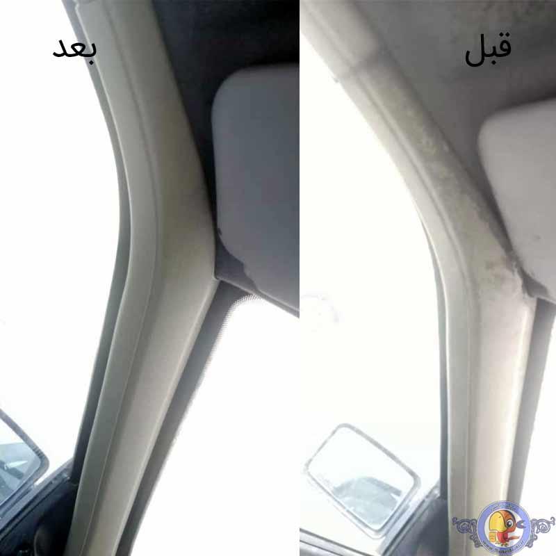 اسپری دوراکلین تمیزکننده داخل خودرو سیواکس CW-500ml