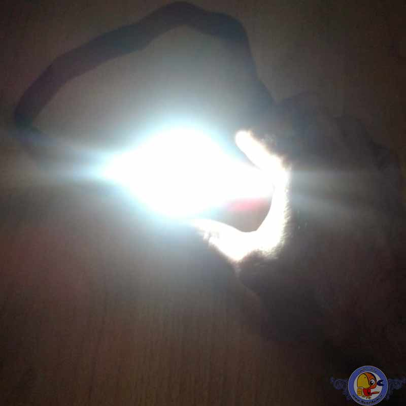 چراغ پیشانی مدل COB 10W