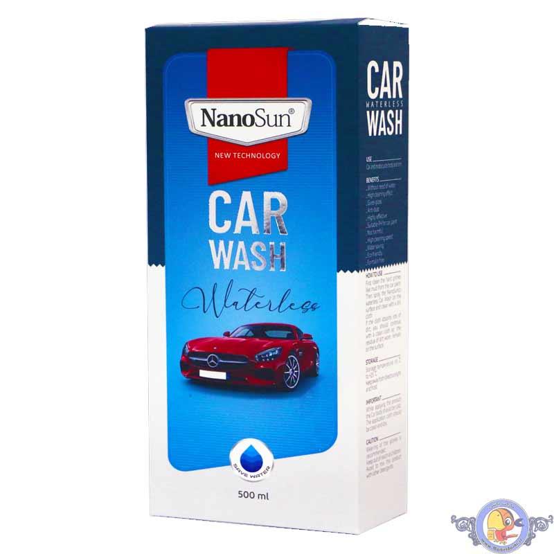 شامپو واترلس خودرو نانوسان
