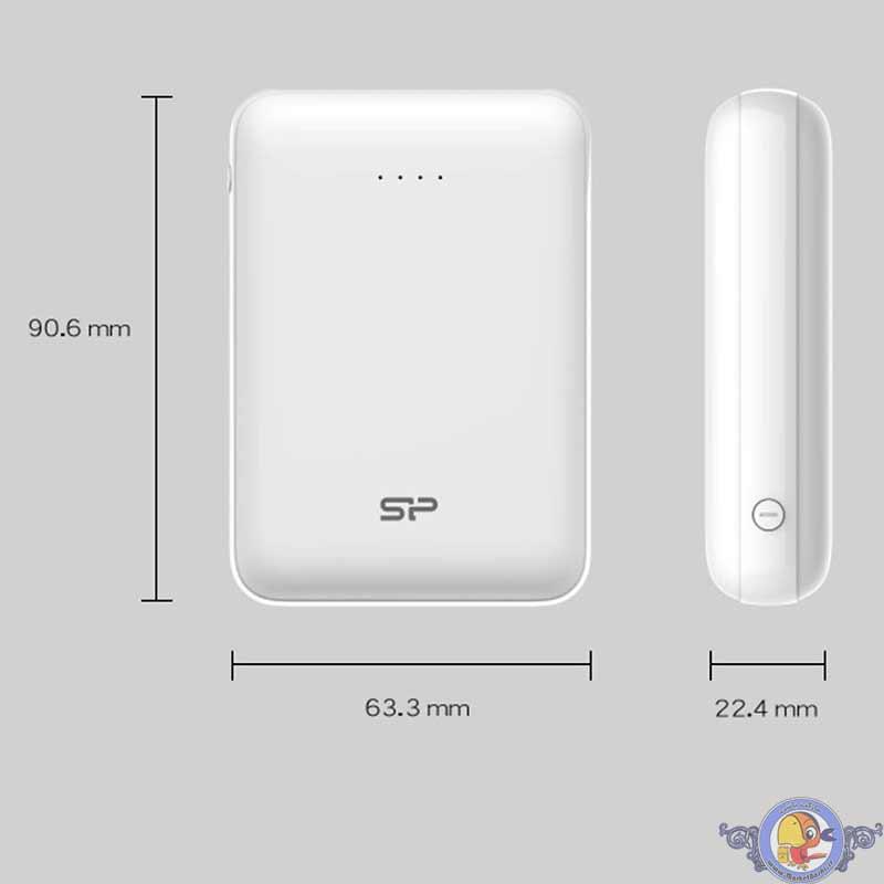 شارژر همراه سیلیکون پاور مدل GP10 ظرفیت 10000 میلیآمپرساعت